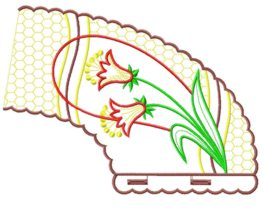 smallcollars021 embroidery design