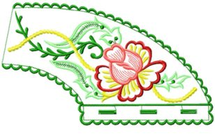 smallcollars024 embroidery design