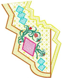 smallcollars028 embroidery design
