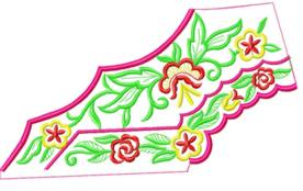 smallcollars051 embroidery design