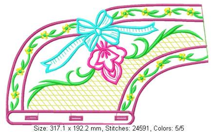 smallcollars062 embroidery design