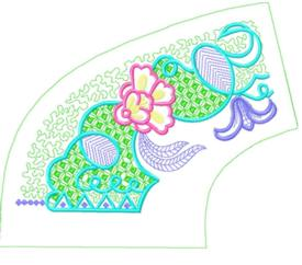 smallcollars069 embroidery design