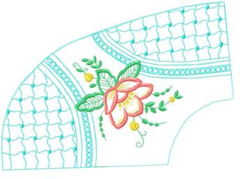 smallcollars075 embroidery design