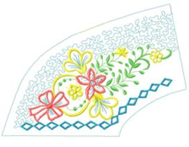smallcollars083 embroidery design