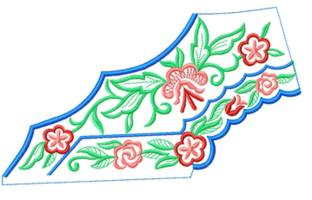 smallcollars092 embroidery design