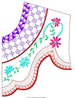 smallcollars094 embroidery design