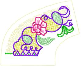 smallcollars104 embroidery design