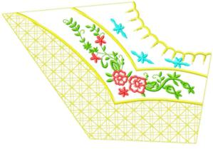smallcollars107 embroidery design